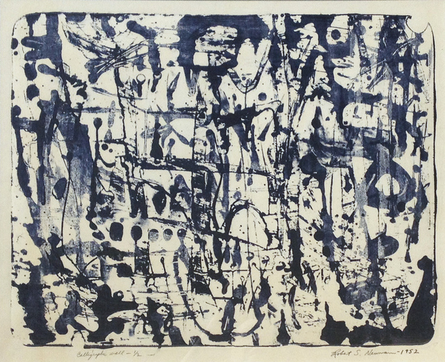 , 'Calligraphic Wall,' 1952, Childs Gallery