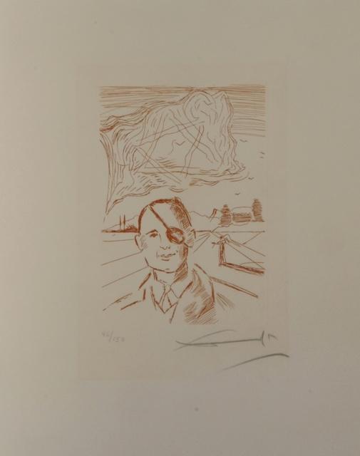 Salvador Dalí, 'Famous Men Moshe Dayan ', 1968, Fine Art Acquisitions