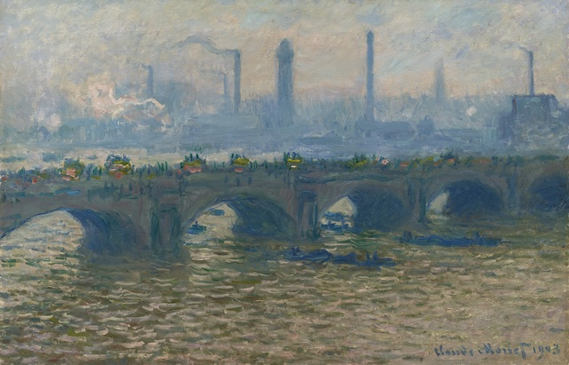 , 'Waterloo Bridge, Overcast,' 1903, Ordrupgaard