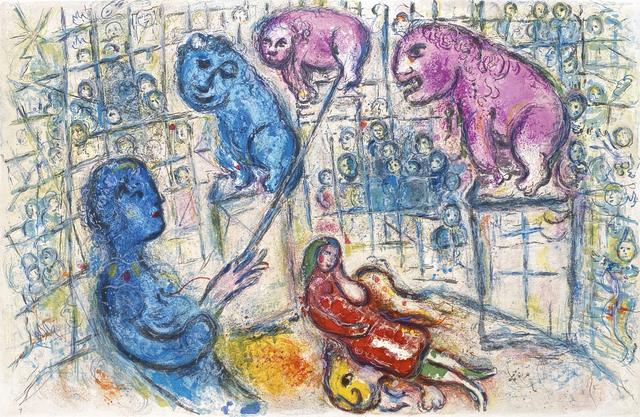 Marc Chagall, 'Le Cirque M. 506', 1967, Print, Lithograph, Galerie d'Orsay