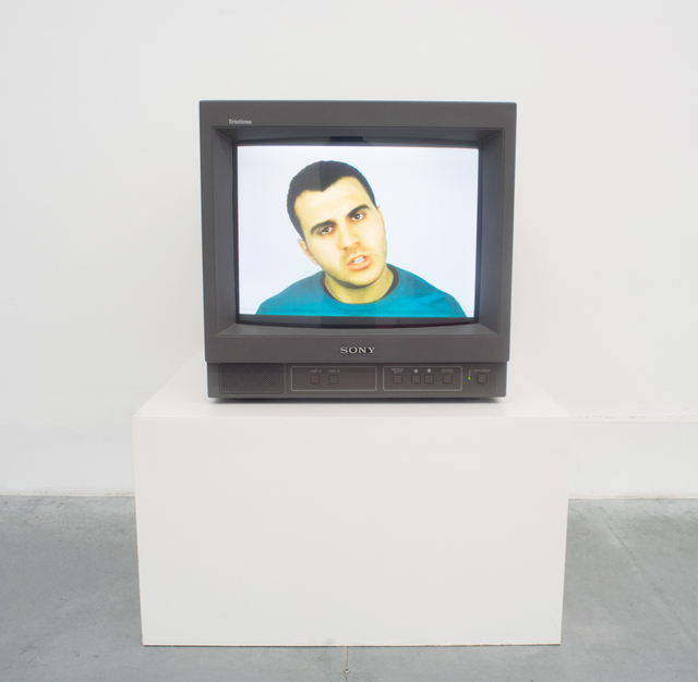, 'Untitled #123 (An actor simulates a language foreign to him/her), single channel video,' 2015, Rubber Factory
