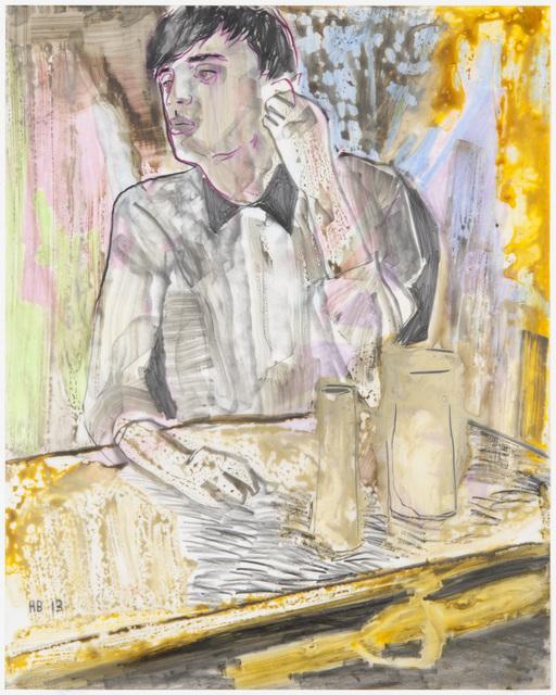 , 'The signalman,' 2013, Galerie Peter Kilchmann
