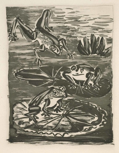 Pablo Picasso, 'The Frog (Histoire Naturelle - Textes de Buffon, B.357)', 1942, Martin Lawrence Galleries