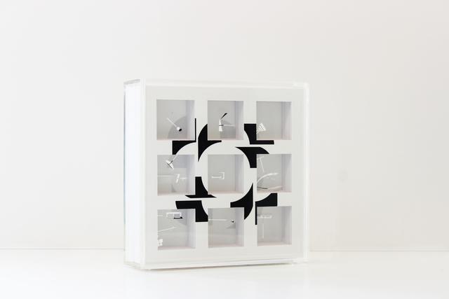 , 'Complete coverage on Oiticica box metaesquema series 9,' 2014, Josée Bienvenu
