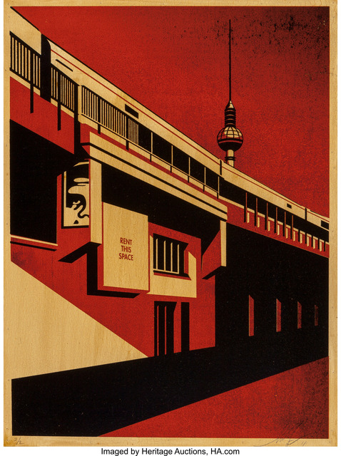 Shepard Fairey (OBEY), 'Berlin Tower', 2011, Heritage Auctions