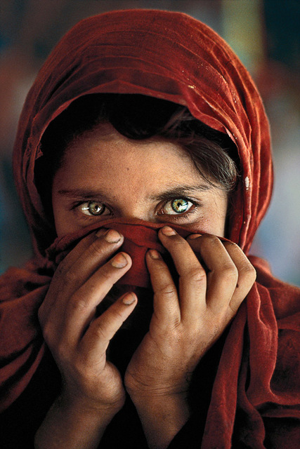 , 'Afghan Girl with Hands on Face, Peshawar, Pakistan,' 1984, Cavalier Galleries