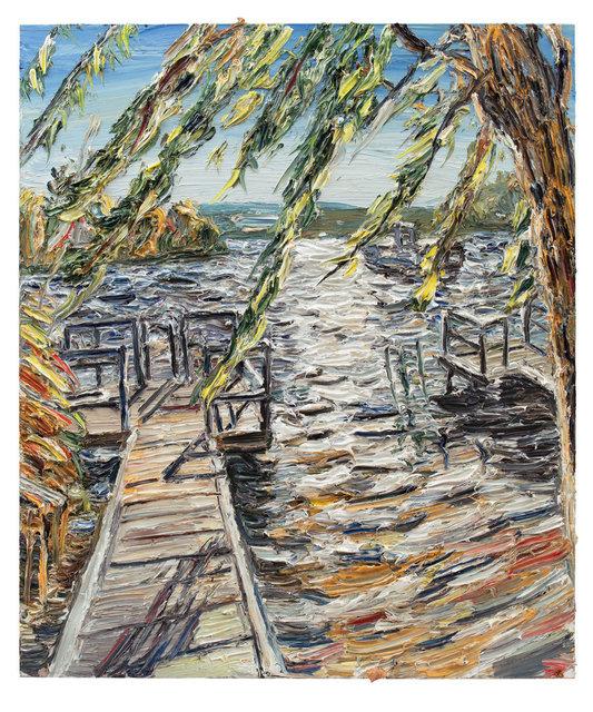 , 'Steg im Licht,' 2017, Ludorff