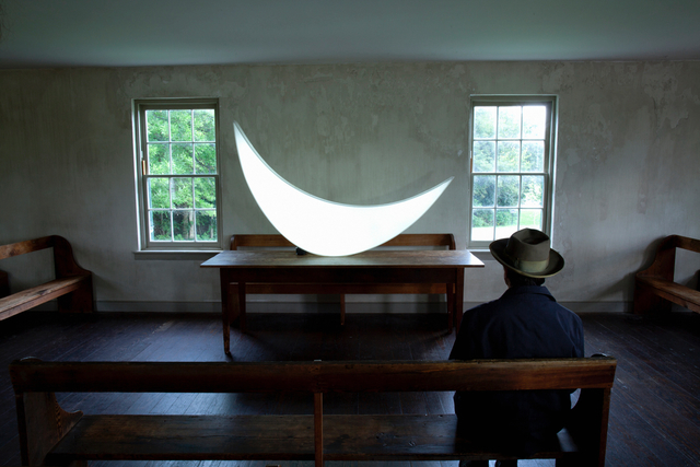 Leonid Tishkov, 'Private Moon in Dunker Church', 2012, Galerıe Blue Square