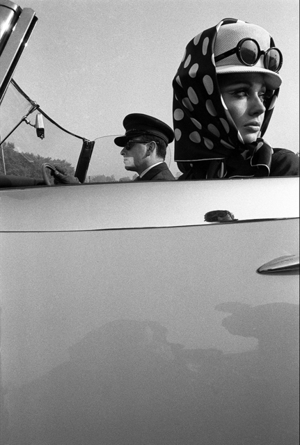 , 'Girl with Chauffeur, Queen Magazine,' 1965, Peter Fetterman Gallery