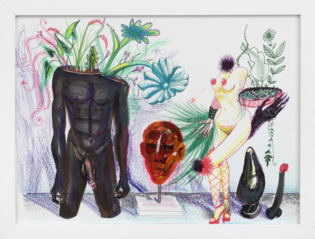 Dalton Gata, 'Los jardineros', 2017, Independent Curators International (ICI) Benefit Auction