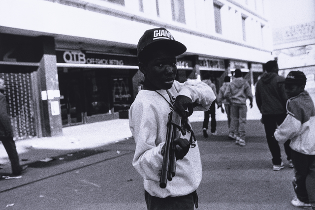, '10 prints (young boy with rifle),' 2006, The Studio Museum in Harlem