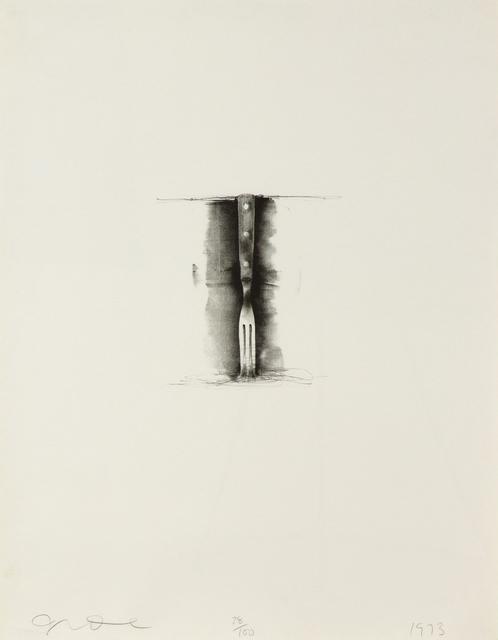 , 'Ten Winter Tools (Fork),' 1973, Heather James Fine Art