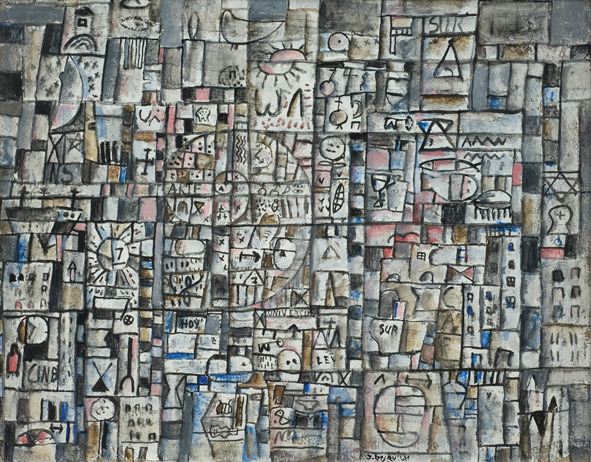 , 'Constructivo,' 1961, Museo Gurvich