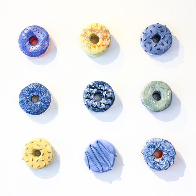 Liv Antonecchia, 'Rhythm & Blues Donut Set', Miller Gallery Charleston