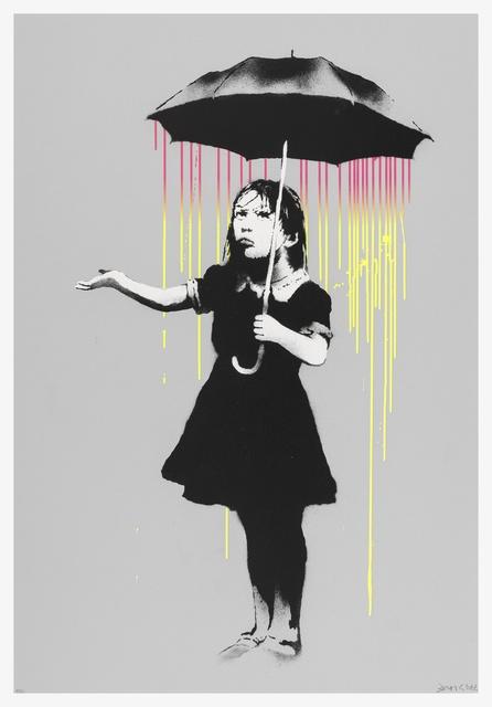 Banksy, 'NOLA (Pink to Yellow Rain)', 2008, Forum Auctions