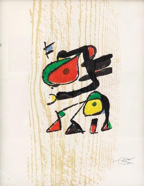 Joan Miró, 'S/T', Blanca Soto Arte