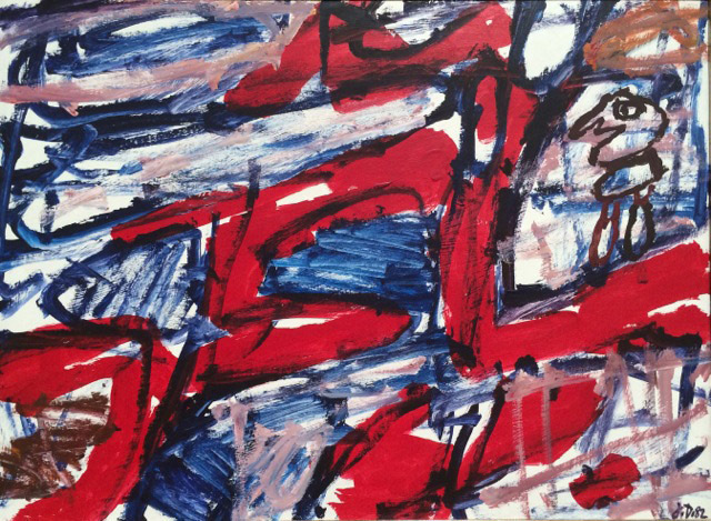 , 'Site Avec Un Personnage ,' 1982, Rosenbaum Contemporary