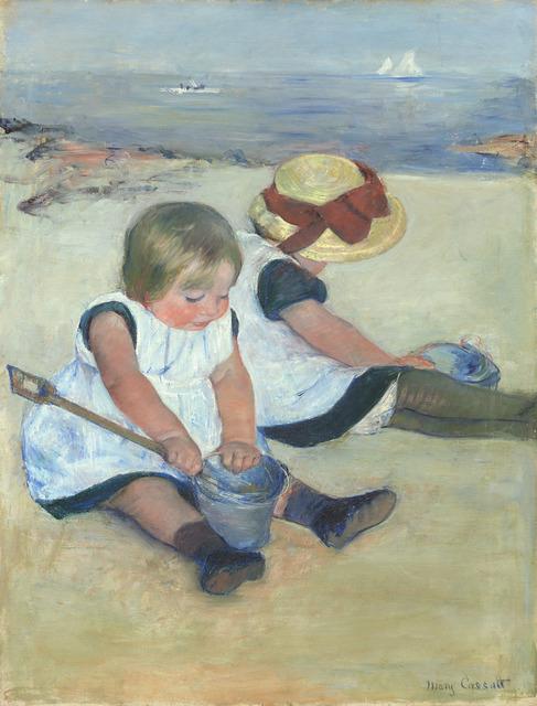 Mary Cassatt, 'Children Playing on the Beach', 1884, National Gallery of Art, Washington, D.C.