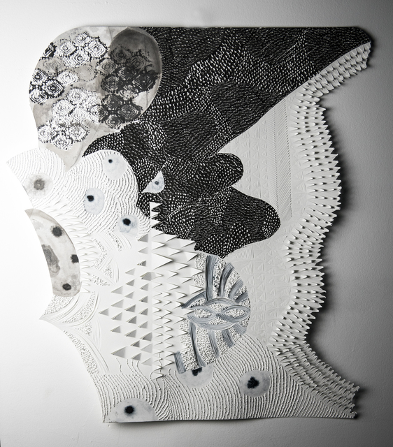 , 'Tissue Patterns,' 2018, Fridman Gallery