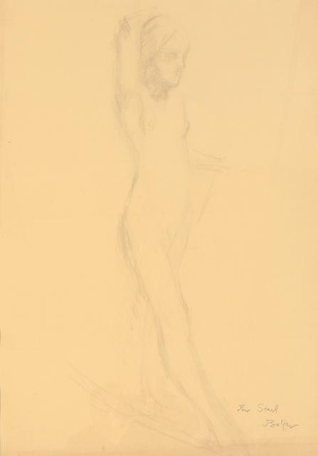 ", 'Etude pour ""Nu au foulard"",' 1975, Gagosian"