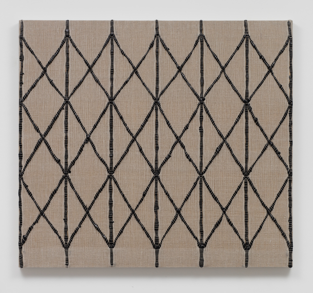 , 'Woven Collapsible Gate, Expanded (Black),' 2017, Sprüth Magers