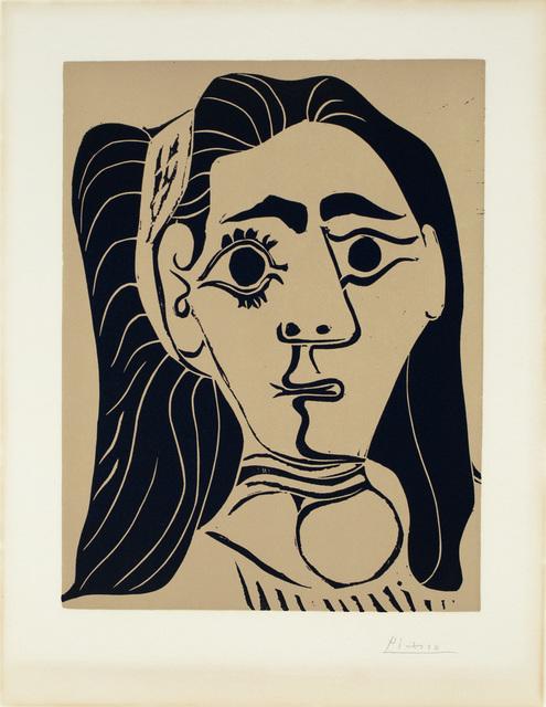 , 'Femme Aux Cheveus-Flous,' 1962, Surovek Gallery