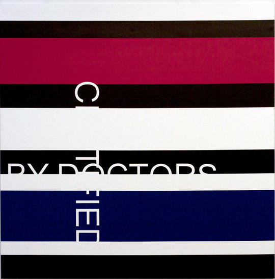 , 'Certified by doctors,' 2012, Galerie Graff