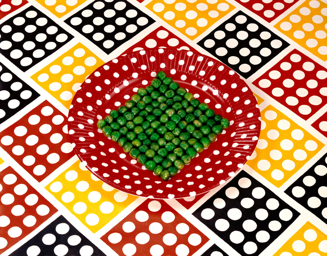 , 'Peas on a Plate,' 1978, RYAN LEE