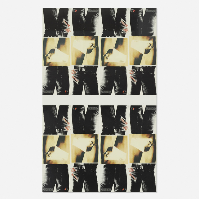After Andy Warhol, 'Rolling Stones Sticky Fingers poster', 1971, Wright