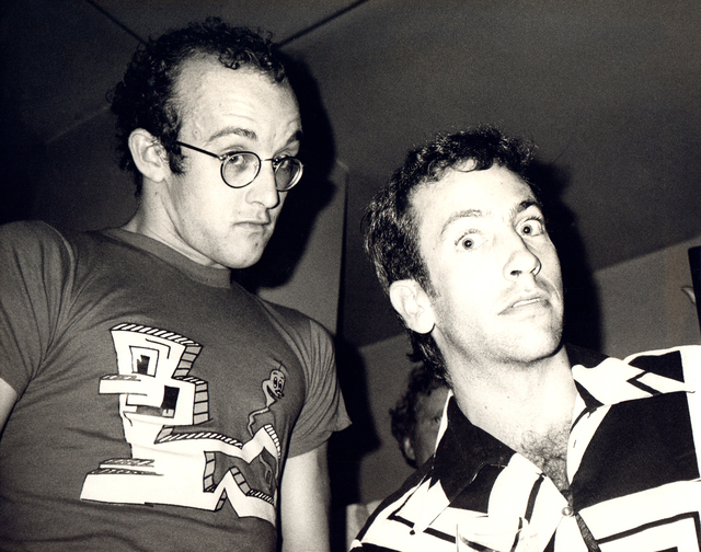 Andy Warhol, 'Andy Warhol, Photograph of Keith Haring and Kenny Scharf circa 1986', ca. 1986, Hedges Projects
