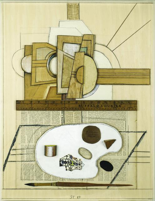 , 'Easel & Palette,' 1987, Eckert Fine Art