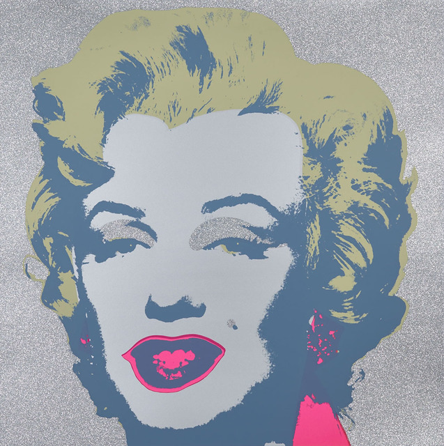 Andy Warhol, 'Diamond Dust Marilyn', Waddington's