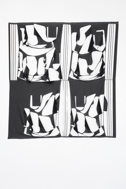 , 'Jules et Jim et les deux Anglaises,' 2016, Galerie Laurence Bernard