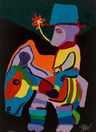 L'Ane trop paisible pour les Enfants cruels, pl. 9, from Circus II