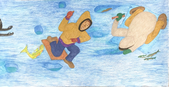 , 'Untitled (Ice Fishing),' 2018, Madrona Gallery