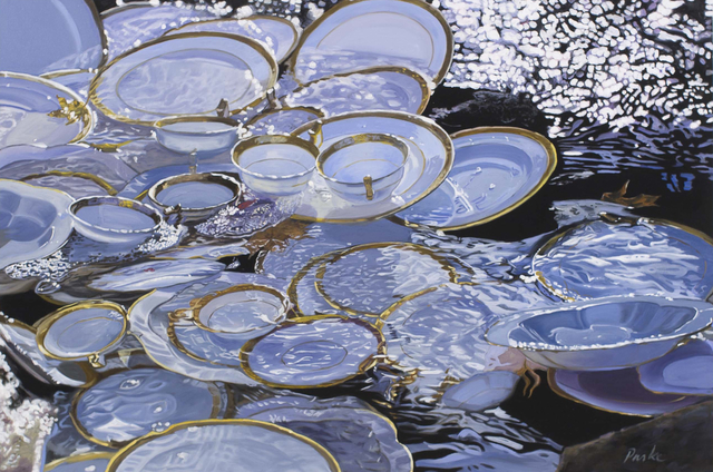 , 'Plates in the River,' 2013, Cross Mackenzie Gallery