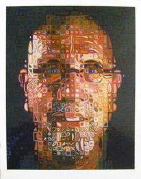 Self Portrait Screenprint
