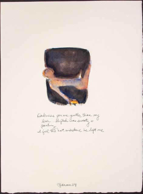 , 'Darkness you are gentler...,' 2004, BlackBook Presents