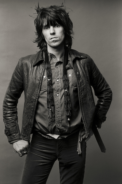 "Norman Seeff, 'Keith Richards, Los Angeles, (""Exile's OK"")', 1972, Jackson Fine Art"