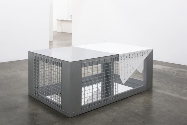 Mary Kelly, 'Habitus: Type II', 2010-2012, Susanne Vielmetter Los Angeles Projects