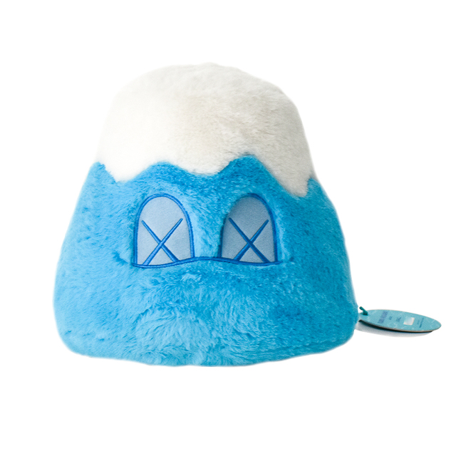 KAWS, 'MOUNT FUJI (Blue)', 2019, Sculpture, Blue and white Polyester Fur, Silverback Gallery