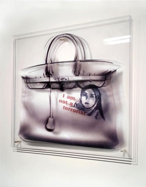 , 'FEMMES AU BORD DE LA CRISE DE GUERRE Series - Sac terroriste,' 2014, Mark Hachem Gallery