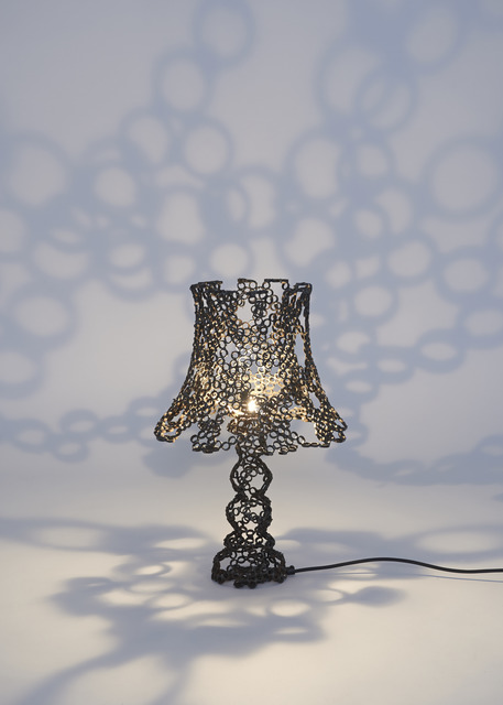 , 'Engineering Temporality Table Lamp,' 2013, stilwerk