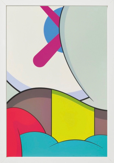 KAWS, 'Blame Game', 2014, Print, Screenprint on Saunders Waterford 410gsm High White Paper accompanied by portfolio, Dallas Collectors Club