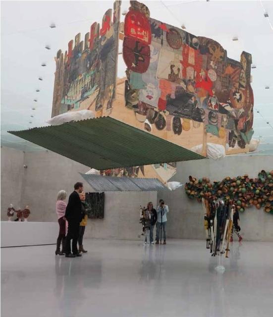 , 'The Falling House,' 2014, Museo de Arte Contemporáneo de Buenos Aires