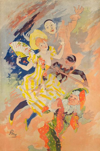 , 'LA PANTOMIME,' ca. 1891, Christopher-Clark Fine Art
