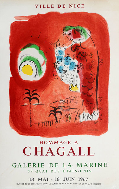 Marc Chagall, 'Hommage A Chagall', 1967, Print, Lithograph, Goldmark Gallery