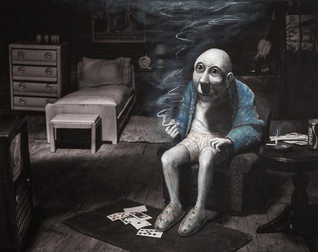 , 'Jake in his bedroom at Shady Grove Nursing Home,' 2017, Catherine Edelman Gallery