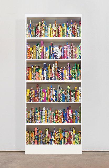 Yinka Shonibare CBE, 'The American Library Collection (Philanthropists)', 2019, James Cohan