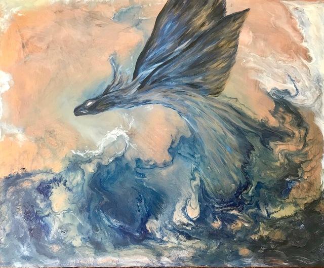 Rajul Shah, 'The Water Dragon', 2918, Kitano Alley Gallery